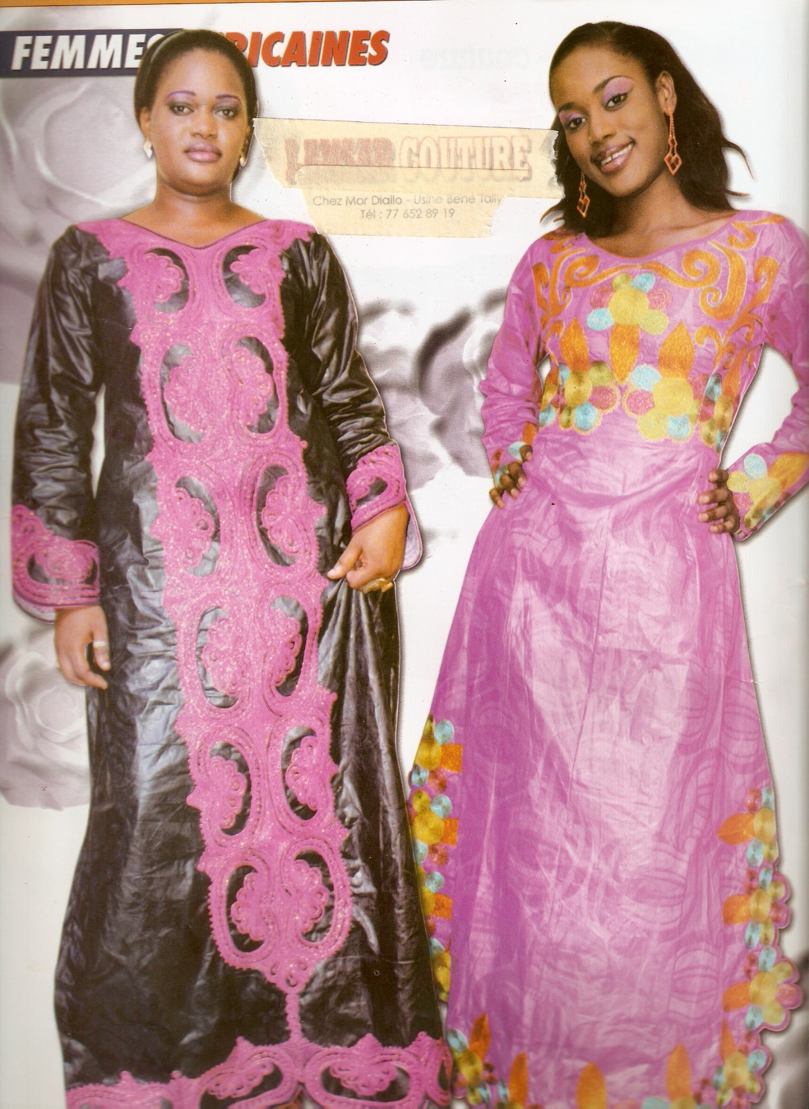 Mod le couture africaine catalogue for Couture de reve