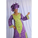 modèle couture bazin femme