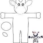 modèle vache couture