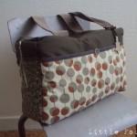 patron couture gratuit sac à langer