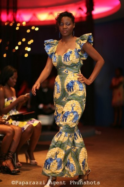 modèle couture africaine