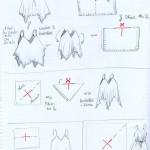 modèle couture foulard
