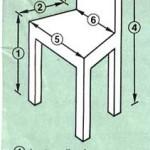 modèle couture housse de chaise