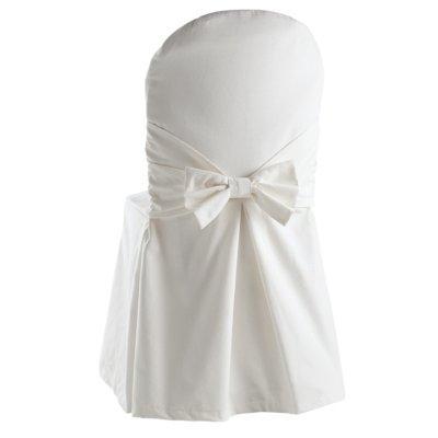 Mod le couture housse de chaise 8 - Housse de chaise blanche ...