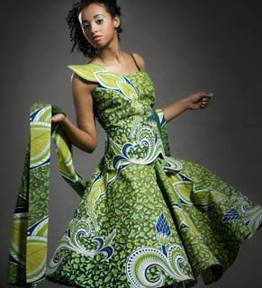 Mod le couture pagne africaine 10 for Couture de kita pagne