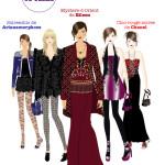 modèle en couture