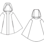 patron couture cape capuche