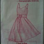 patron couture gratuit robe femme