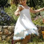 patron couture gratuit robe fillette