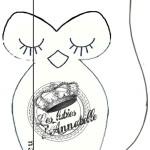 patron couture hibou