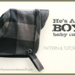 tuto couture bébé garçon