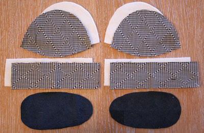 Tuto couture chausson b b facile 12 - Tuto chausson bebe couture ...