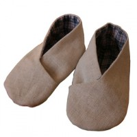 Tuto couture chausson b b facile 6 - Tuto chausson bebe couture ...
