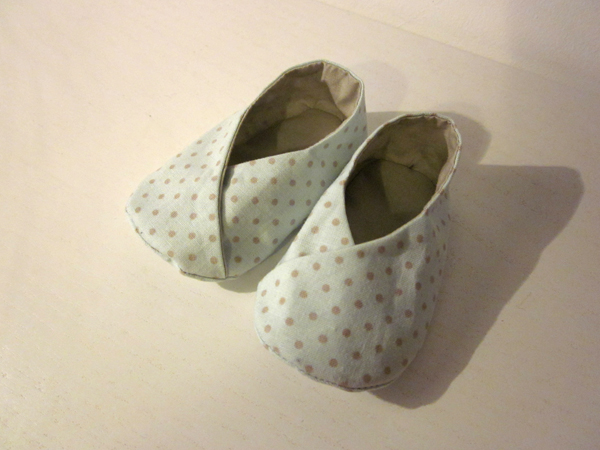 Tuto couture chausson b b facile 9 - Tuto chausson bebe couture ...