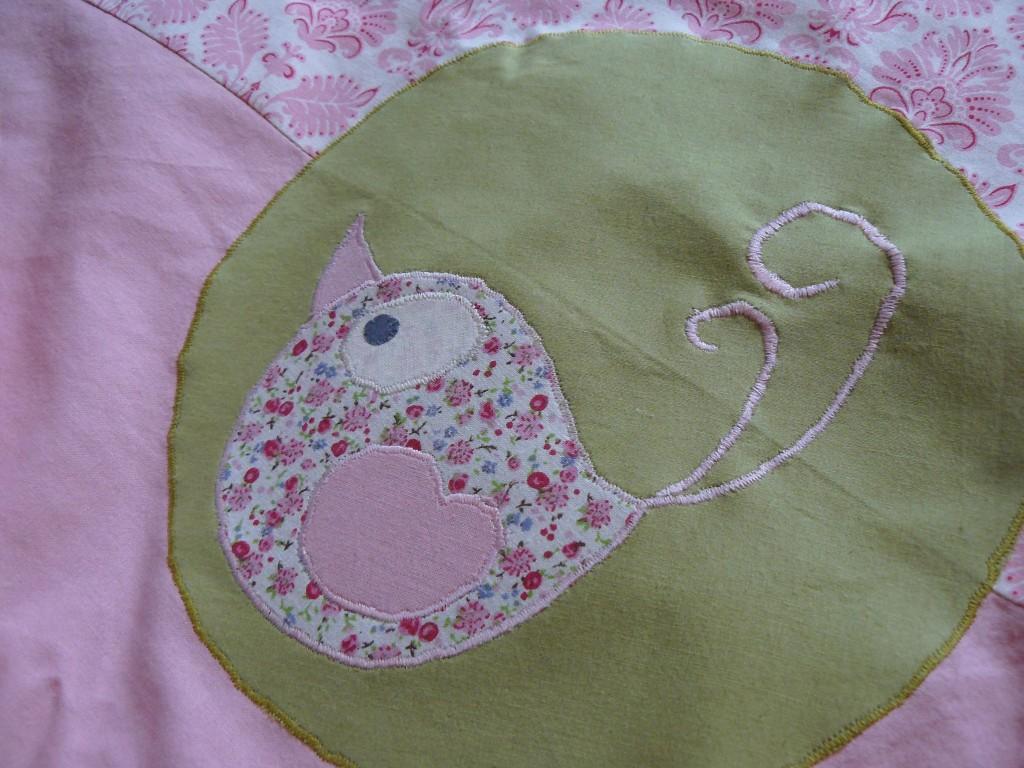 modèle couverture bebe couture