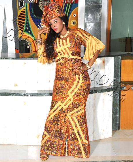 Modele Robe Tissu Pagne 2016 Senegalaise