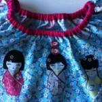 modèle kokeshi couture