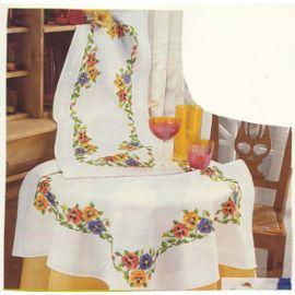modèle napperon couture