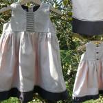 patron couture jupe bébé