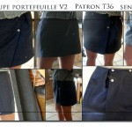 patron couture jupe portefeuille