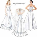 patron couture mariage