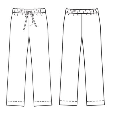 patron couture gratuit pantalon homme