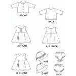 patron couture robe bébé