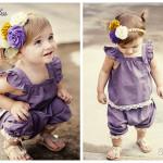 patron couture sarouel bébé