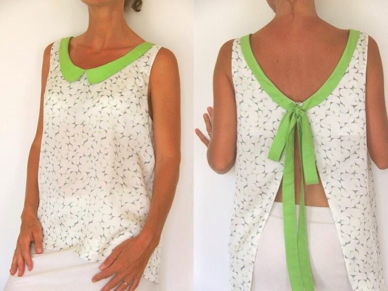 Tuto couture haut femme facile for Apprendre a couture gratuit