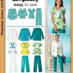 patron couture uniforme
