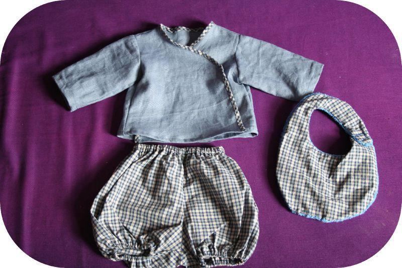 modèle couture bébé garçon