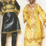 modèle couture bazin