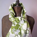 modèle couture echarpe