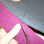 modèle couture feutrine