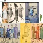 modèle couture robe charleston