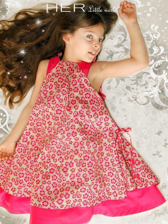 modèle couture robe fille