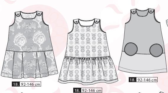 patron couture robe petite fille