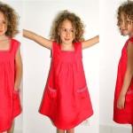 modèle couture robe petite fille