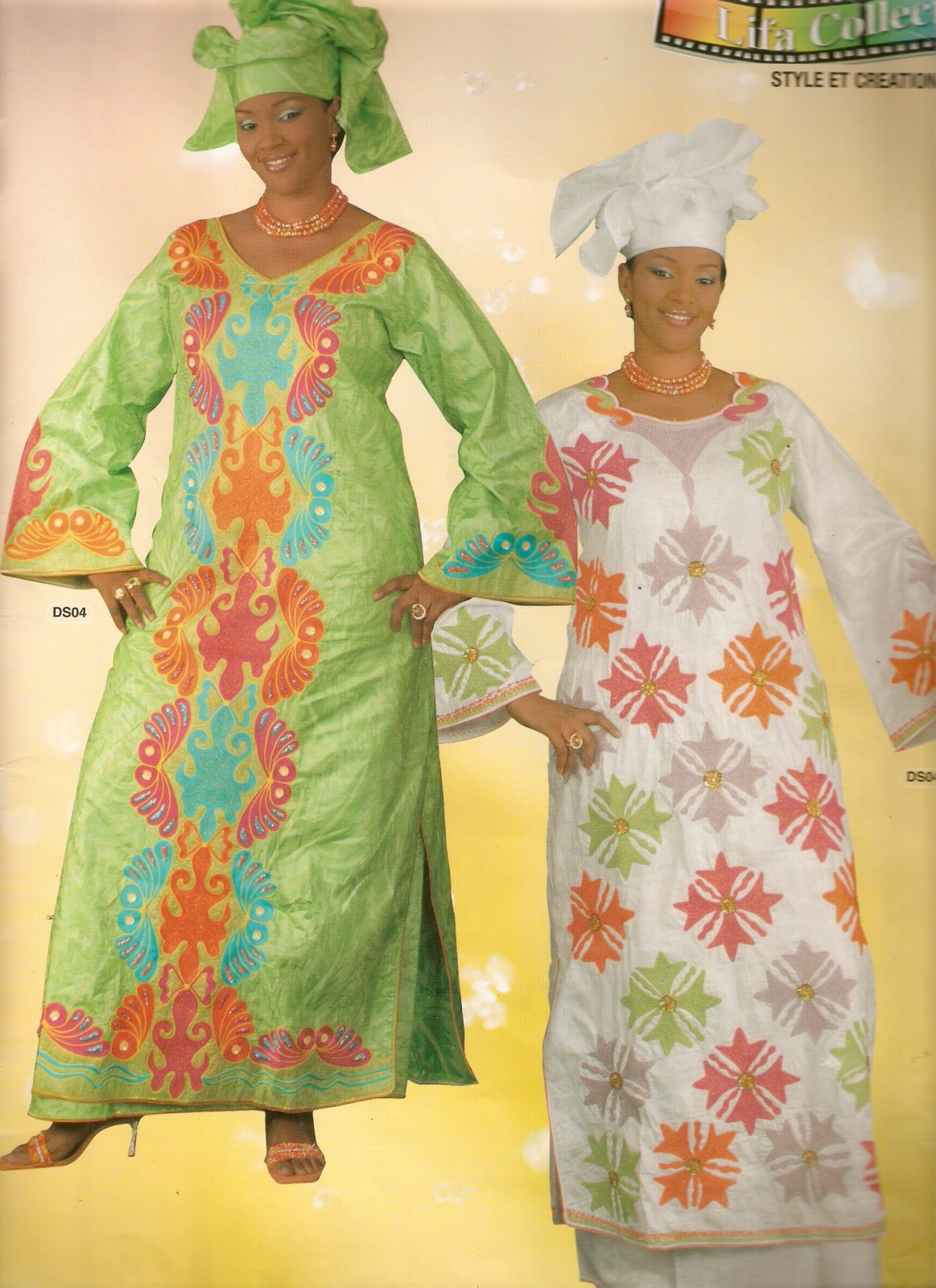 modèle couture tissu pagne 14