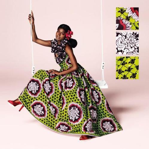 Mod le couture tissu pagne 7 for Couture de kita pagne