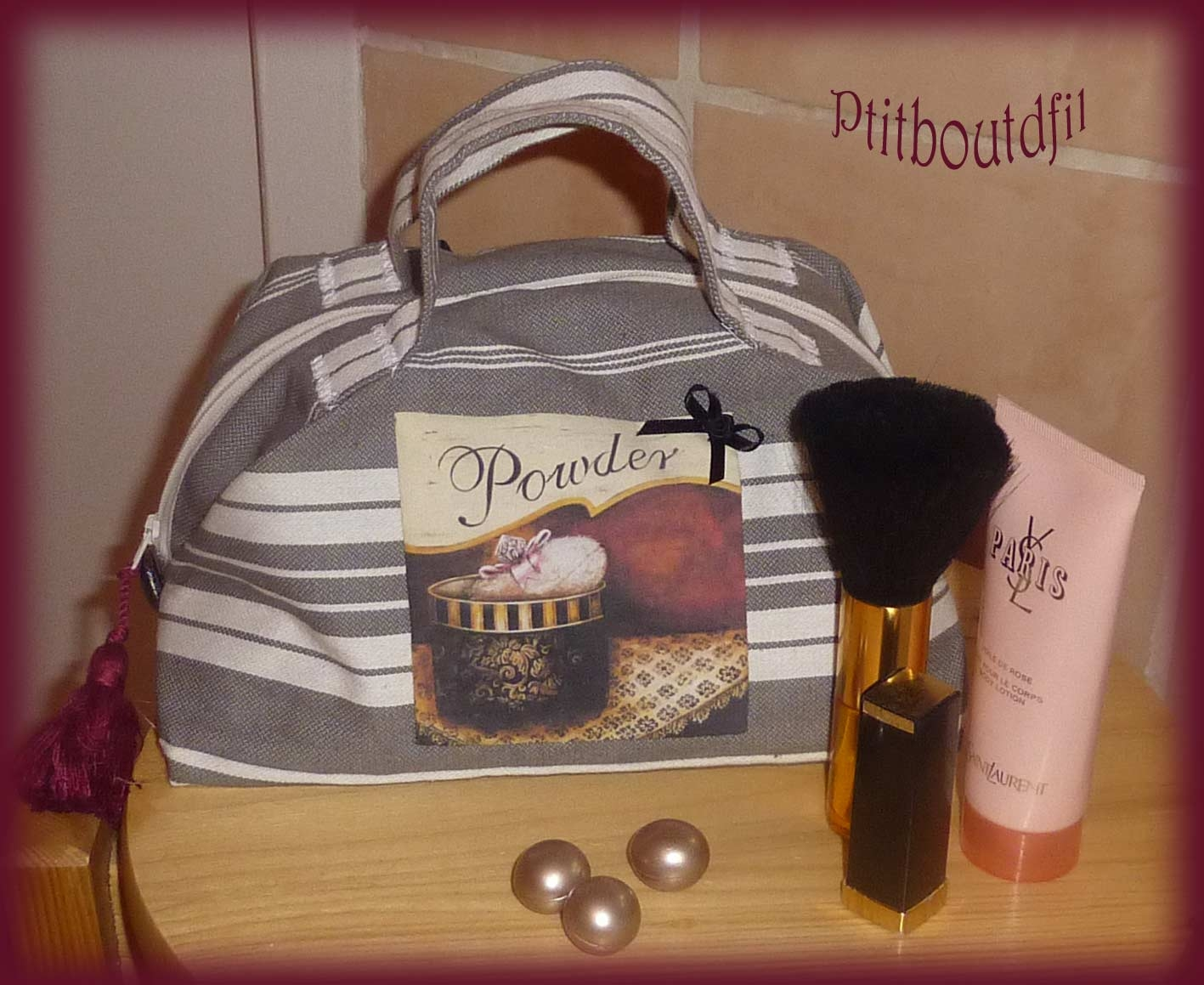 Mod le couture trousse de toilette 10 for Couture trousse