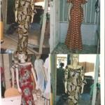 modèle couture wax