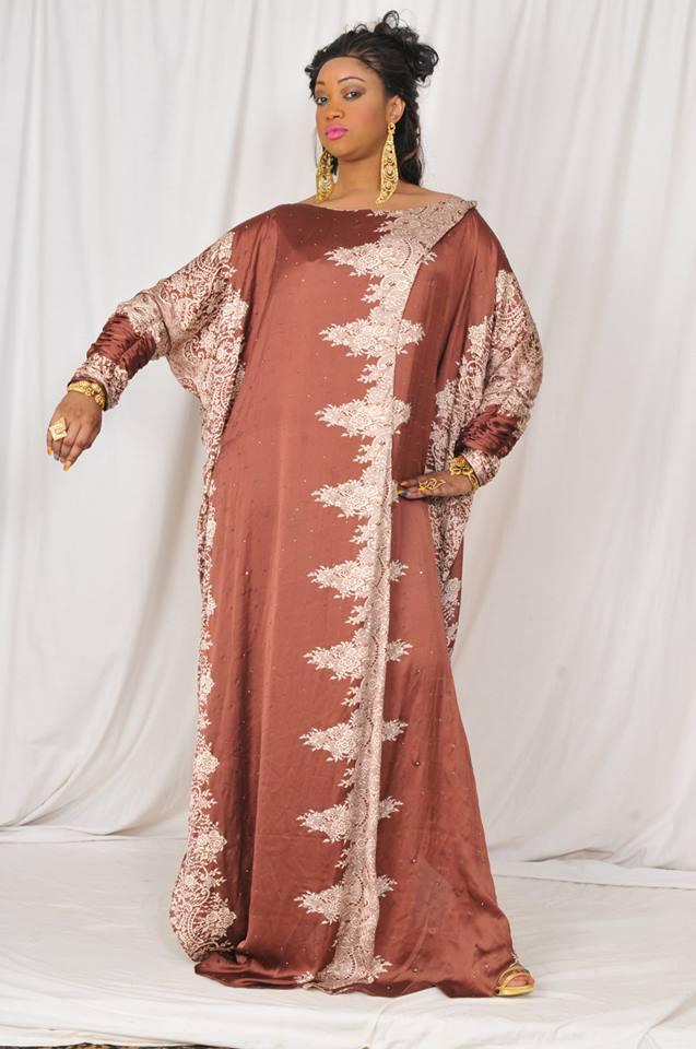 modele couture soie senegal