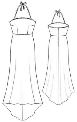 Couture robe de soiree gratuit