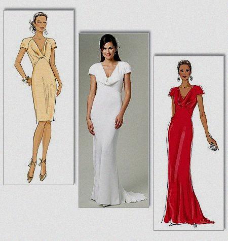 Patron couture gratuit pour robe de soiree