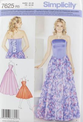 Modele de patron de robe de soiree