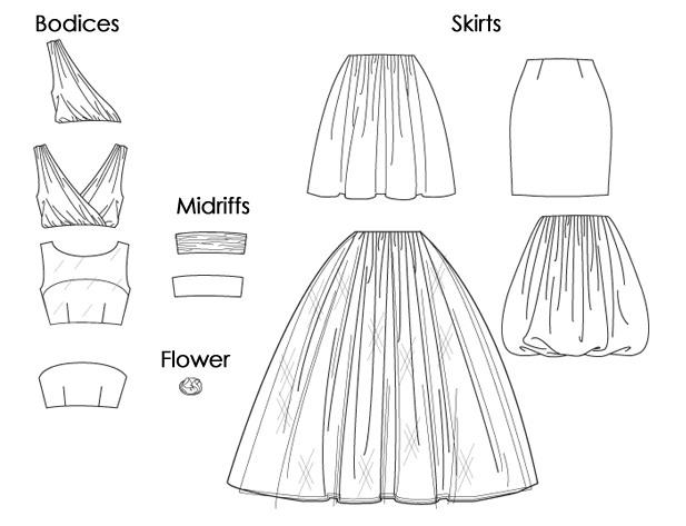 Patron couture gratuit robe de soir e 3 - Patron de robe de soiree ...