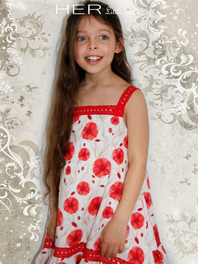 Robe de fille de 3 ans