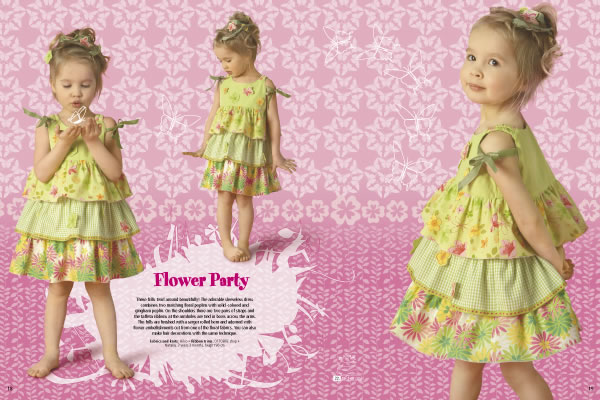 Patron couture gratuit robe fille 3 ans for Couture a 4 ans