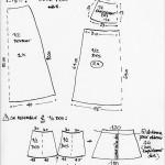 patron couture jupe longue